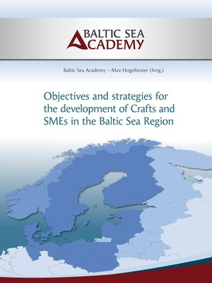 cover image of Strategies for the development of Crafts and SMEs in the Baltic Sea Region