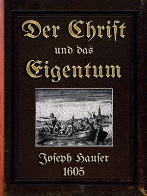 cover image of Der Christ und das Eigentum