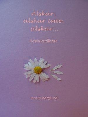 cover image of Älskar, älskar inte, älskar...