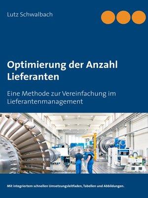 cover image of Optimierung der Anzahl Lieferanten