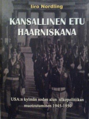 cover image of Kansallinen etu haarniskana