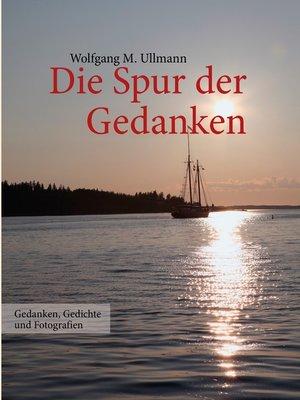 cover image of Die Spur der Gedanken