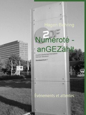 cover image of Numéroté--anGEZählt