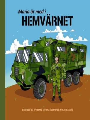 cover image of Maria är med i Hemvärnet