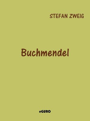 cover image of Buchmendel