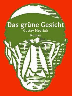 cover image of Das grüne Gesicht