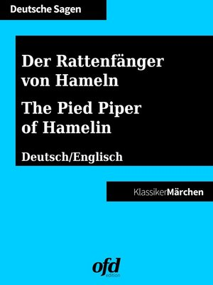 cover image of Der Rattenfänger von Hameln--The Pied Piper of Hamelin