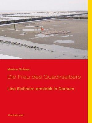 cover image of Die Frau des Quacksalbers
