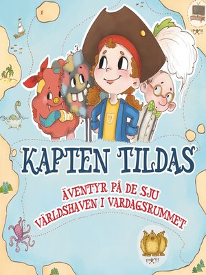 cover image of Kapten Tilda