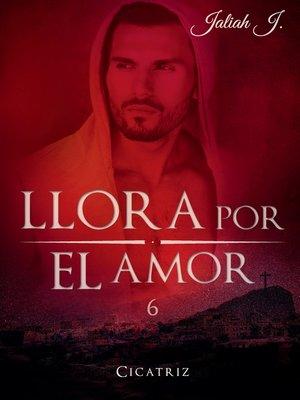 cover image of Llora por el amor 6