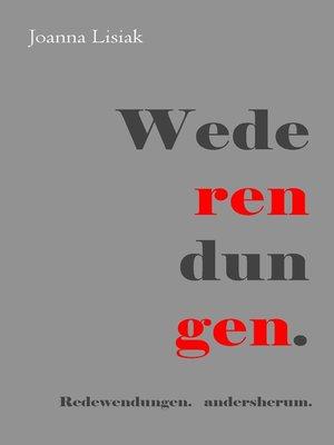 cover image of Wederendungen