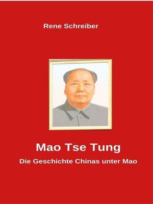 cover image of Mao Tse Tung