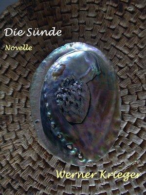 cover image of Die Sünde