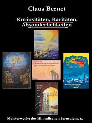 cover image of Kuriositäten, Raritäten, Absonderlichkeiten
