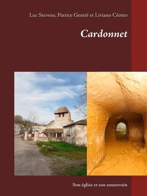 cover image of Cardonnet