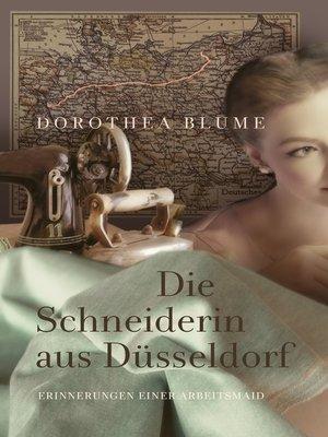 cover image of Die Schneiderin aus Düsseldorf