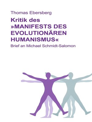 cover image of Kritik des Manifests des evolutionären Humanismus