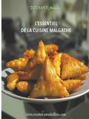 cover image of L'essentiel de la cuisine Malgache