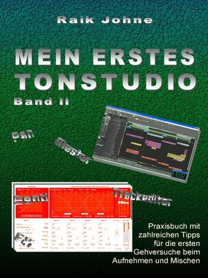 cover image of Mein erstes Tonstudio--Band II