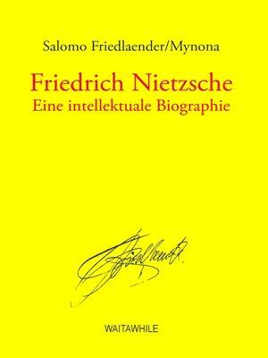 cover image of Friedrich Nietzsche