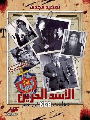 cover image of الأسد الحزين