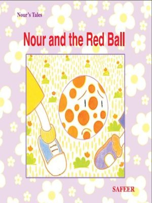 cover image of نور والكرة الحمراء