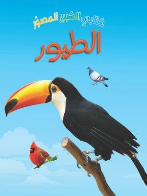 cover image of كتابي الكبير المصور. الطيور