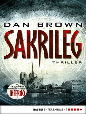 cover image of Sakrileg--The Da Vinci Code