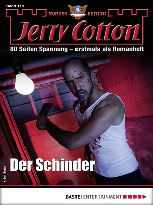 cover image of Jerry Cotton Sonder-Edition 111--Krimi-Serie