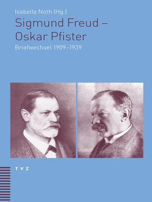 cover image of Sigmund Freud--Oskar Pfister