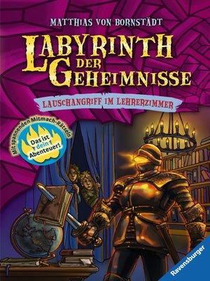 cover image of Labyrinth der Geheimnisse 3