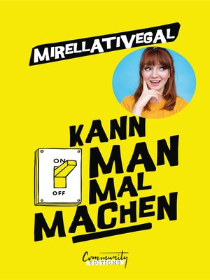 cover image of Kann man mal machen