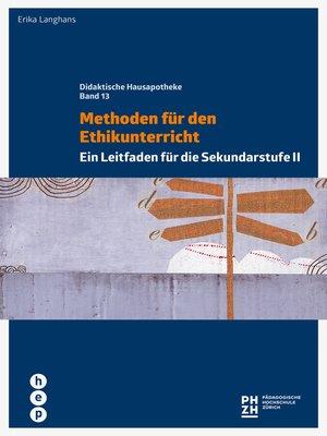 cover image of Methoden für den Ethikunterricht (E-Book)