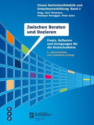 cover image of Zwischen Beraten und Dozieren
