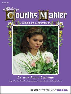 cover image of Hedwig Courths-Mahler--Folge 029