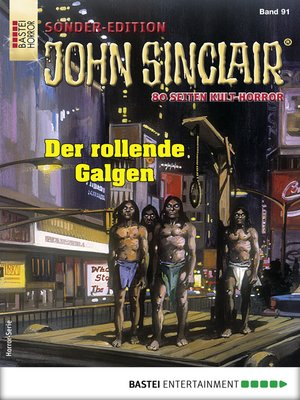 cover image of John Sinclair Sonder-Edition 91--Horror-Serie