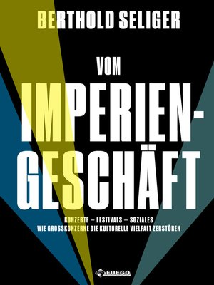 cover image of Vom Imperiengeschäft