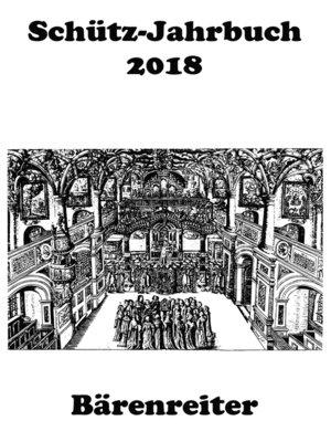 cover image of Schütz-Jahrbuch / Schütz-Jahrbuch 2018, 40. Jahrgang