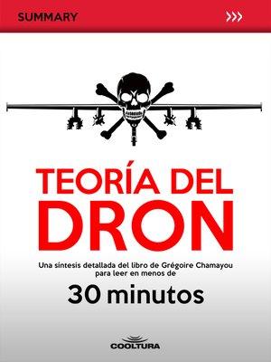 cover image of Teoría del Dron