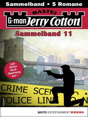 cover image of Jerry Cotton Sammelband 11--Krimi-Serie