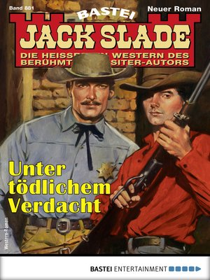 cover image of Jack Slade 881--Western