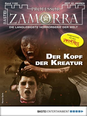 cover image of Professor Zamorra 1180--Horror-Serie