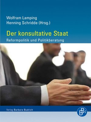 cover image of Der konsultative Staat