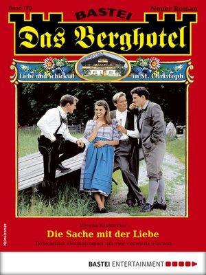 cover image of Das Berghotel 176--Heimatroman
