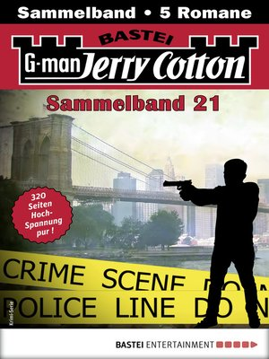 cover image of Jerry Cotton Sammelband 21--Krimi-Serie