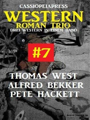 cover image of Cassiopeiapress Western Roman Trio #7