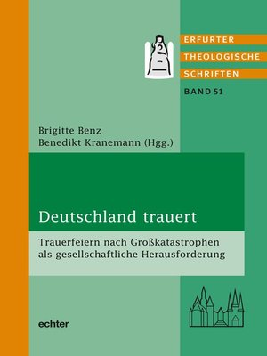 cover image of Deutschland trauert