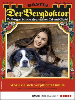 cover image of Der Bergdoktor 1909--Heimatroman