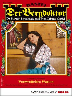 cover image of Der Bergdoktor 1959--Heimatroman