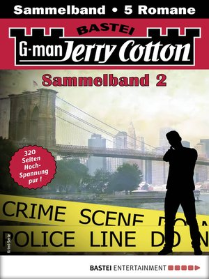 cover image of Jerry Cotton Sammelband 2--Krimi-Serie